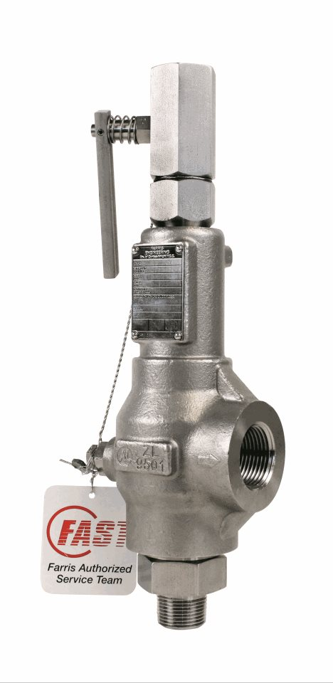 Image of a Farris 2400 Series Pressure Relief Valve