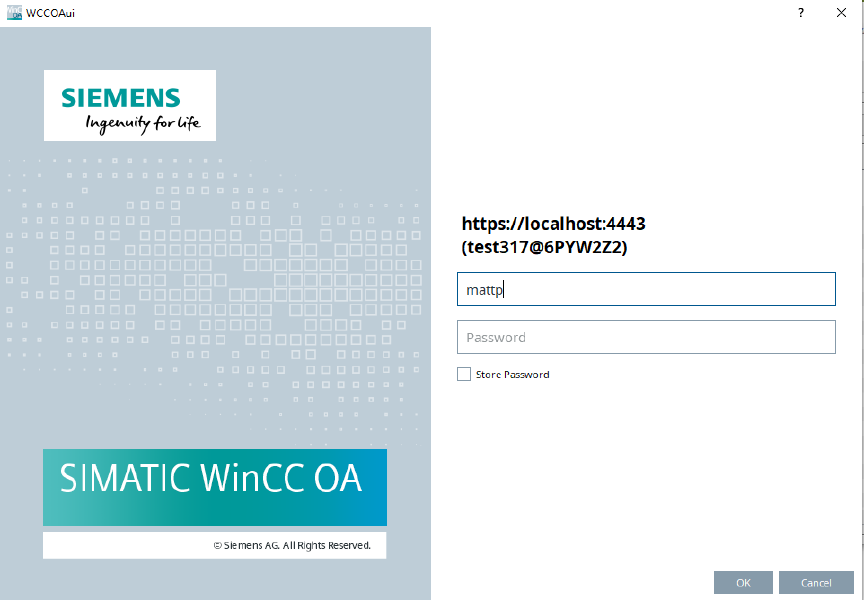 Siemens: How to configure security features in WinCC OA 3.17